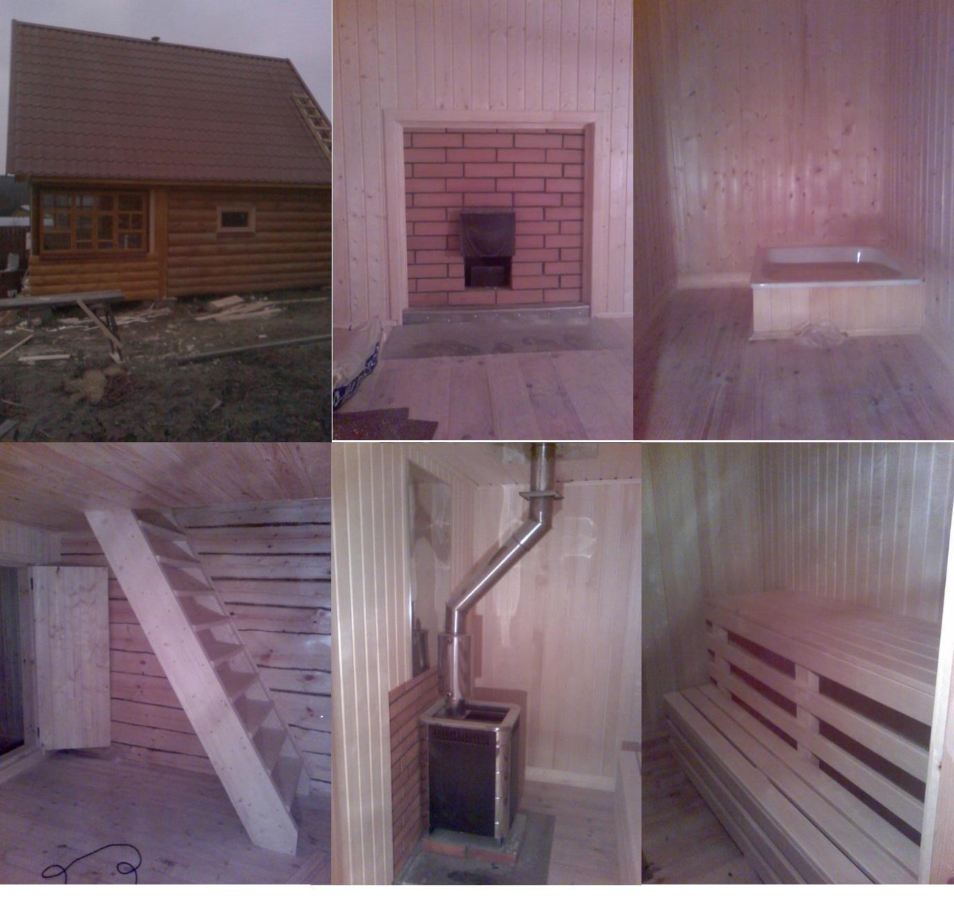 Как оборудуется баня в гараже своими руками sdelai garazh 71