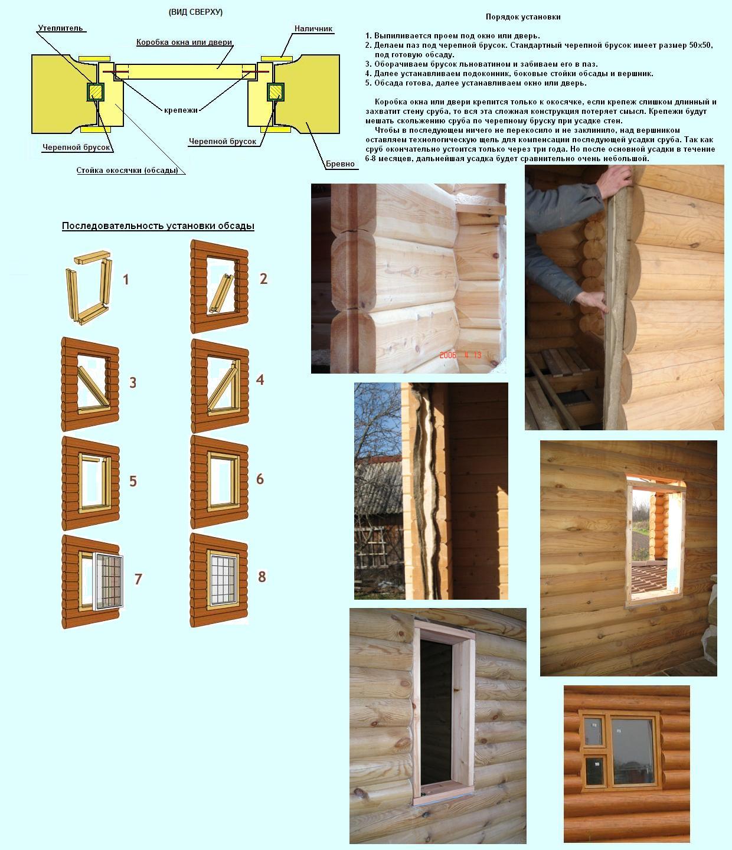 Как сделать двери в срубе 97